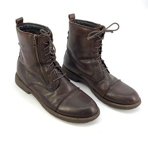 Bed Stu Patriot Leather Moto Boots